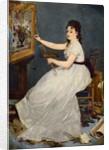 Portrait of Eva Gonzales 1870 by Edouard Manet