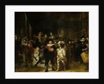 The Nightwatch by Rembrandt Harmensz. van Rijn