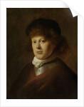Portrait of Rembrandt Harmensz van Rijn by Jan the Elder Lievens