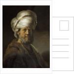 Man in Oriental Dress by Rembrandt Harmensz. van Rijn