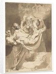 Deposition of Christ in tomb by Peter Paul Rubens