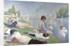 Bathers at Asnières by Georges Pierre Seurat