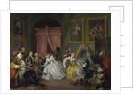 Marriage a la Mode: IV, The Toilette by William Hogarth