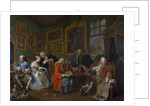 Marriage a la Mode: I - The Marriage Settlement by William Hogarth