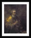 Homer Dictating to a Clerk by Rembrandt Harmensz. van Rijn