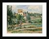 Moulin de la Couleuvre at Pontoise by Paul Cezanne
