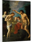 The Baptism of Christ by Guido Reni
