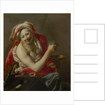 Bacchante with an Ape by Hendrick Ter Brugghen