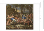 The triumph of Pan by Nicolas Poussin