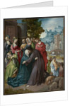 Christ Taking Leave of his Mother by Cornelis Engebrechtsz
