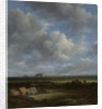 View of Haarlem from the Northwest with the Bleaching Fields in the Foreground by Jacob Isaaksz. or Isaacksz. van Ruisdael