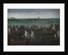Battle between Dutch and Spanish Ships on the Haarlemmermeer by Hendrick Cornelisz. Vroom