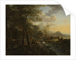 Italian Landscape with a Draughtsman by Jan Both