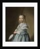 Portrait of a Girl Dressed in Blue by Johannes Cornelisz. Verspronck
