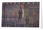 Circus Sideshow by Georges Pierre Seurat