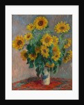 Bouquet of Sunflowers by Claude Monet