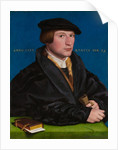 Hermann von Wedigh III by Hans Holbein the Younger