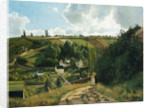 Jalais Hill at Pontoise by Camille Pissarro