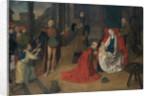 Adoration of Magi by Joos van Wassenove