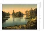 Bois du Boulougne (i.e., Boulogne), the lake, Paris, France by Anonymous