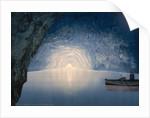 Blue grotto, Capri Island, Italy by Anonymous