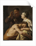 Samson and Delilah by Jan the Elder Lievens
