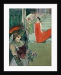 The Opera 'Messalina' at Bordeaux by Henri de Toulouse-Lautrec