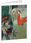 The Opera 'Messalina' at Bordeaux by Henri de Toulouse-Lautrec