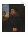 Portrait of the Venetian Painter Giovanni Bellini? by Titian