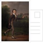 Running boy. Marcus Holst von Schmidten by Jens Juel