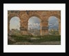 A View through Three of the North-Western Arches of the Third Storey of the Coliseum in Rome by Christoffer-Wilhelm Eckersberg