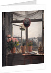 View from the artist's room by Martinus Rorbye
