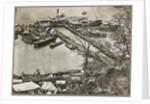 Landing supplies on the James River, Virginia by Mathew & studio Brady