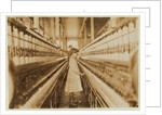 Spinner in Lancaster Cotton Mills, South Carolina by Lewis Wickes Hine
