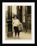 6 year old newsboy by Lewis Wickes Hine