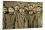Breaker boys (who sort coal by hand) at Hughestown Borough Coal Co. Pittston, Pennsylvania by Lewis Wickes Hine
