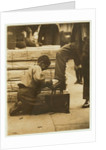 Bootblack in the Bowery by Lewis Wickes Hine