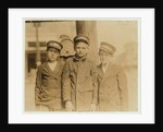 Messenger boys in Jacksonville, Florida by Lewis Wickes Hine