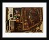 Trompe l'oeil. A Cabinet in the Artist's Studio by Cornelis Norbertus Gysbrechts