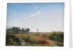 Zealand Landscape. Open Country in North Zealand by Johan Thomas Lundbye
