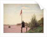 A View from Dosseringen near the Sortedam Lake Looking Towards Nørrebro by Christen Schjellerup Kobke