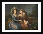 The Marquise de Pezay, and the Marquise de Rougé with Her Sons Alexis and Adrien by Elisabeth Louise Vigee-Lebrun