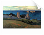 Vision. Scene from Visby, 1894 by Sven Richard Bergh