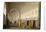 The Inner Gallery of the Royal Museum at the Royal Palace, Stockholm, 1796 by Pehr Hillestrom