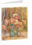 Vase of Roses by Pierre Auguste Renoir