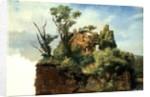 Landscape with Ruins by Pierre Henri de Valenciennes