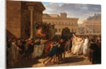 Brutus Listening to the Ambassadors from the Tarquins by Louis Lafitte