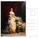 Portrait of Princess Brancaccio-Massimo by Edouard Louis Dubufe