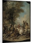 The Lion Hunt, 1735 by Jean Francois de Troy