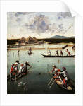 Hunting on the Lagoon by Vittore Carpaccio
